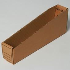 Magazijnbox karton 280x100x105/50mm (per 50 stuks)