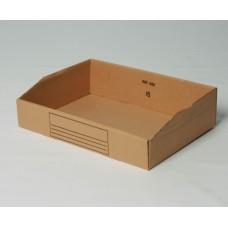 Magazijnbox karton 280x400x105/50mm (per 50 stuks)