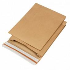 Papieren verzendzak 320x430x80mm (per 100 stuks)