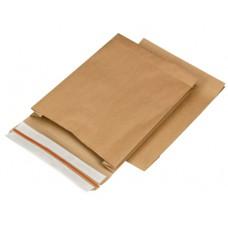 Papieren verzendzak 250x350x50mm (per 100 stuks)